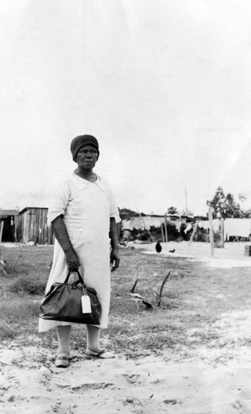 African American midwife in Broward County, Florida 1933