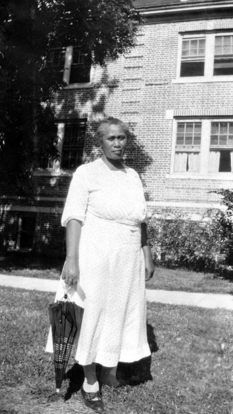 Dean Washington at the West Florida Midwives Institute at Florida A&M College in Tallahassee, Florida, 1933