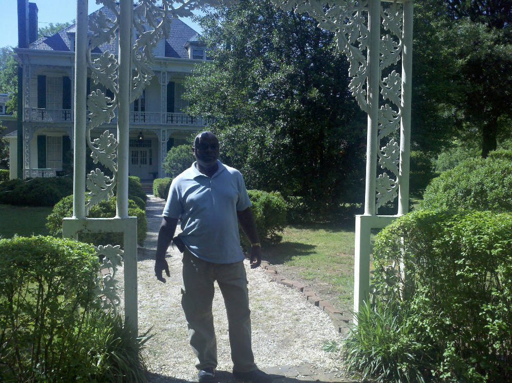 joseph-mcgill-explores-hall-house-grounds
